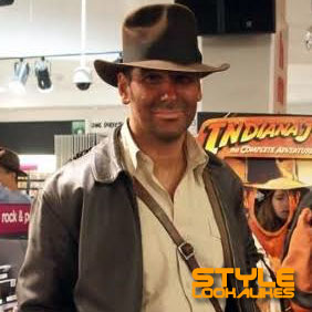 Indiana Jones lookalike